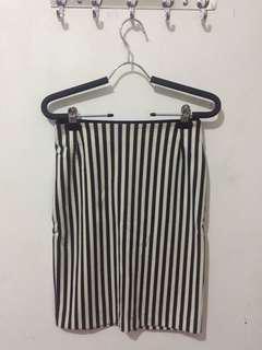 Stripe Skirt h&m