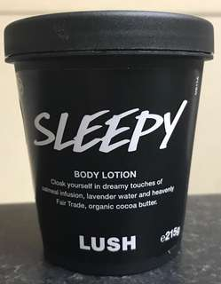 LUSH Sleepy body lotion 215gms