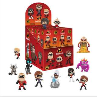 The incredibles 2 blond boxes