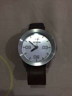 Nixon Watch Brown Strap