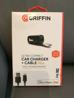 Griffin Car charger with cable