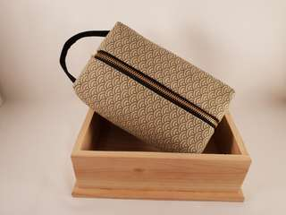 Handmade Cosmetic/ Toiletries Pouch