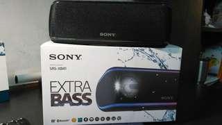 [全新可議價] SONY XB-41 可攜式 全防水無線功能派對音響喇叭