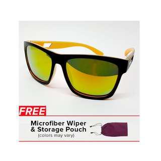 High Quality  Cool Men Sunglasses , UV400 , Mirror coating , Plastic Frame