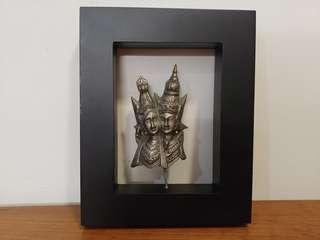 Metal Indonesian Sculpture Art