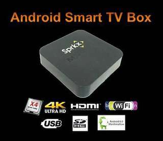 SprkX Android TV Box