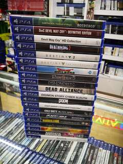Ps4 Games each below RM100 new and sealed free postage 0124140307 WhatsApp
