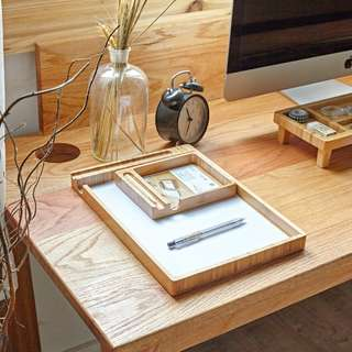 [PO] Wooden Minimalist Paper Board