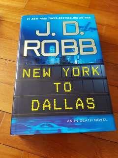 Book - JD Robb - New York To Dallas - J.D Robb