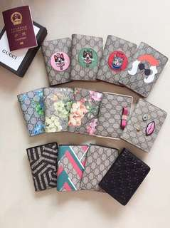 Gucci passport cover