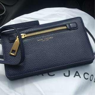 Marc Jacobs Leather Strap Wallet SALE 50%