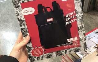 [全新] Marvel 書包 日本 雜誌袋 多用途袋 背囊 bag backbag
