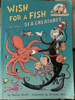 Book: Wish for a Fish - All about sea creatures