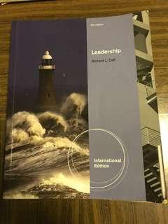 Leadership by Richard L. Daft (5th edition)