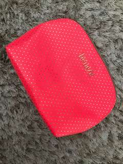 Benefit Neon Pink Pouch