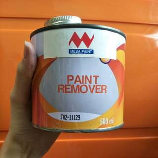 Mesa Paint Remover