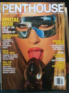 2004 Penthouse Magazine edition