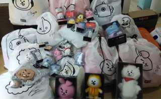 Pre-order : BT21 line and friends