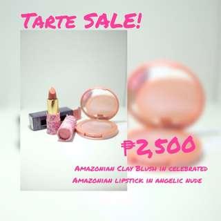 Tarte Amazonian Lipstick + Blush