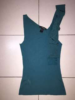 Pre-Loved. MANGO Aqua Green Knitwear Sleeveless Top