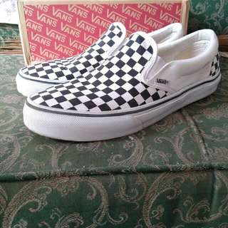 Vans C98LA Slip On Checkerboard