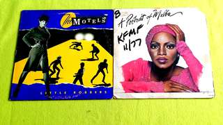 MOTELS . little robbers ● MELBA MOORE . a portrait of melba. ( buy 1 get 1 free )  vinyl record