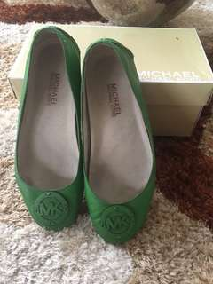 Preloved Michael Kors Green Flats
