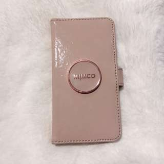 Mimco iphone 6/6s flip case