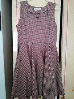 Postage included - Vintage style dress