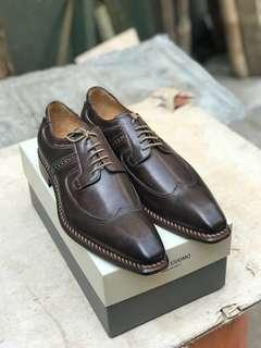 Sepatu pantofel Mario Cuomo made italia new