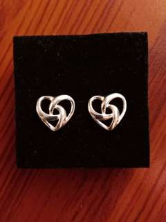 Authentic Sterling Silver Stud Earrings