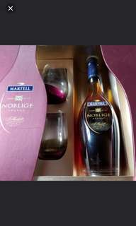 名仕馬爹利特選干邑700ml連酒杯 禮盒,香港行貨。