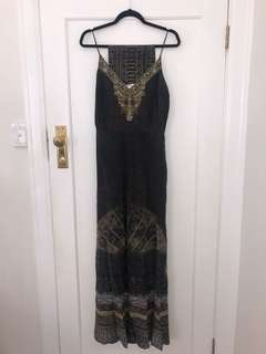 Camilla Anicent Eyes Jumpsuit With Belt Size 1