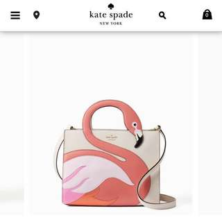 Kate Spade Inspired Flamingo Bag!