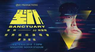 LF: 2x CAT 3/4 JJ Lin 2018 Sanctuary Concert Tickets