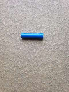 Insulated cable link 2.5mm2,  blue colour,  100 pcs per pkt