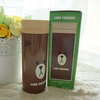 LINE Friends - Brown Bear Thermos bottle