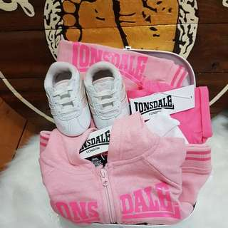 AUTHENTIC BABY LONSDALE SET