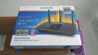 Linksys Wifi router Max-Stream AC-1900+