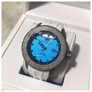Technomarine Men's Reef Automatic Titanium Silicon Watch TM516005