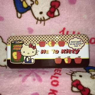 Hello Kitty Metal Pencil Box Case