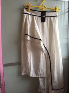 Long Skirt Dress White