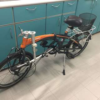 Raleigh Foldable Bicycle