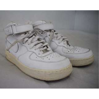 Nike Air Force 1 `82 Mid White Shoes Sneakers