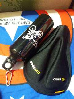 Saddle pad wd bottle