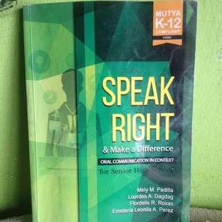 Oral Communication -MUTYA