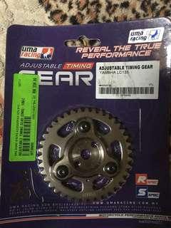 uma racing adjustble timing gear 135lc