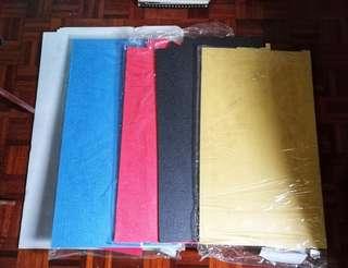 Daiso Japan Colour Foam Boards