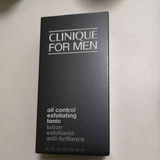 Clinique for men oil controlling toner