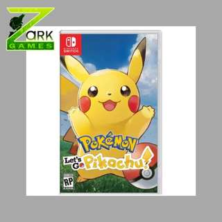 NS POKEMON LET GO PIKACHU